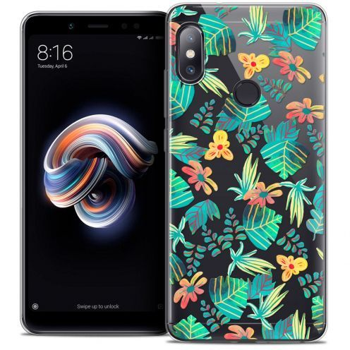 "Coque Crystal Gel Xiaomi Redmi Note 5 (5.99"") Extra Fine Spring - Tropical"