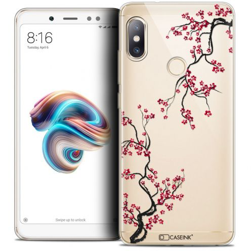 "Coque Crystal Gel Xiaomi Redmi Note 5 (5.99"") Extra Fine Summer - Sakura"