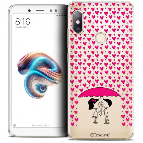 "Coque Crystal Gel Xiaomi Redmi Note 5 (5.99"") Extra Fine Love - Pluie d'Amour"