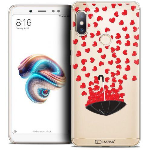 "Coque Crystal Gel Xiaomi Redmi Note 5 (5.99"") Extra Fine Love - Parapluie d'Amour"