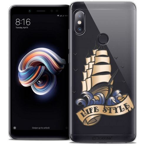 "Coque Crystal Gel Xiaomi Redmi Note 5 (5.99"") Extra Fine Tatoo Lover - Life Style"