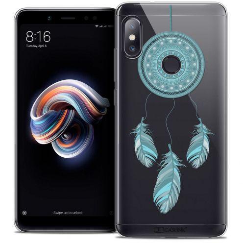 "Coque Crystal Gel Xiaomi Redmi Note 5 (5.99"") Extra Fine Dreamy - Attrape Rêves Blue"
