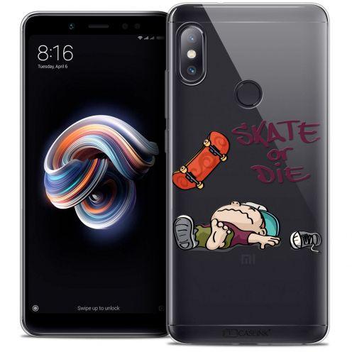 "Coque Crystal Gel Xiaomi Redmi Note 5 (5.99"") Extra Fine BD 2K16 - Skate Or Die"
