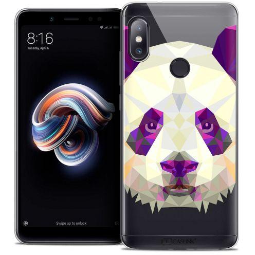 """Coque Crystal Gel Xiaomi Redmi Note 5 (5.99"""") Extra Fine Polygon Animals - Panda"""