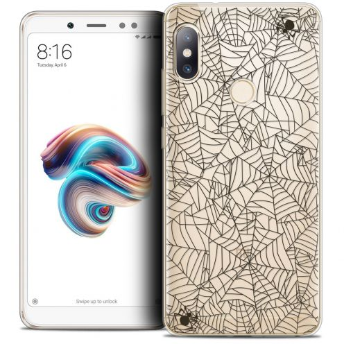 "Coque Crystal Gel Xiaomi Redmi Note 5 (5.99"") Extra Fine Halloween - Spooky Spider"