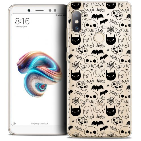 "Coque Crystal Gel Xiaomi Redmi Note 5 (5.99"") Extra Fine Halloween - Spooky"