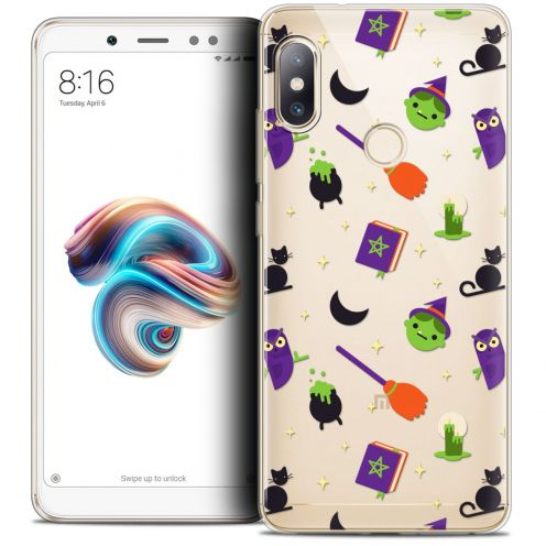 "Coque Crystal Gel Xiaomi Redmi Note 5 (5.99"") Extra Fine Halloween - Witch Potter"