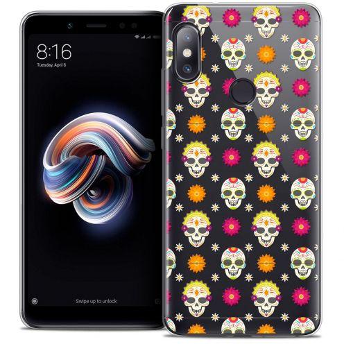 "Coque Crystal Gel Xiaomi Redmi Note 5 (5.99"") Extra Fine Halloween - Skull Halloween"