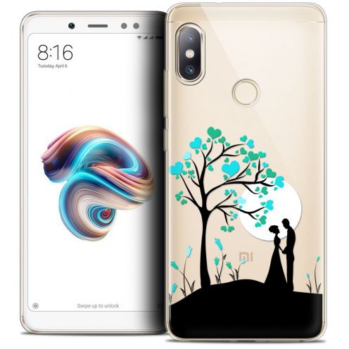 "Coque Crystal Gel Xiaomi Redmi Note 5 (5.99"") Extra Fine Love - Sous l'arbre"