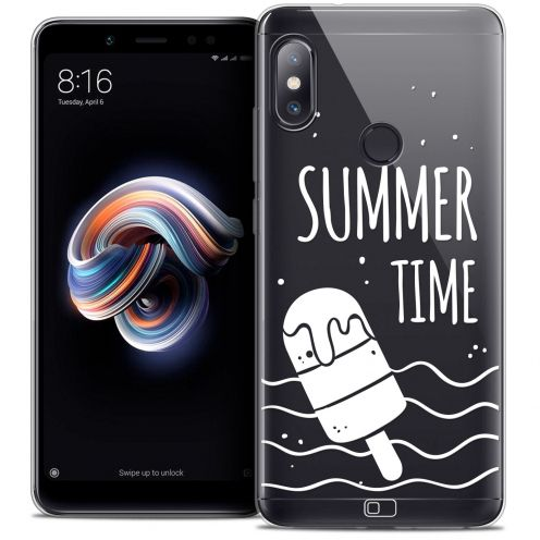 "Coque Crystal Gel Xiaomi Redmi Note 5 (5.99"") Extra Fine Summer - Summer Time"