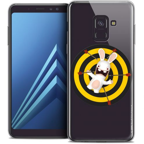 "Coque Gel Samsung Galaxy A8 (2018) A530 (5.6"") Extra Fine Lapins Crétins™ - Target"