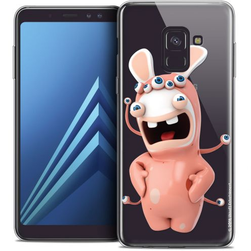 "Coque Gel Samsung Galaxy A8+ (2018) A730 (6.0"") Extra Fine Lapins Crétins™ - Extraterrestre"