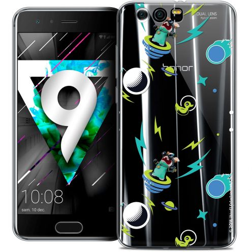 """Coque Gel Huawei Honor 9 (5.15"""") Extra Fine Lapins Crétins™ - Space 1"""