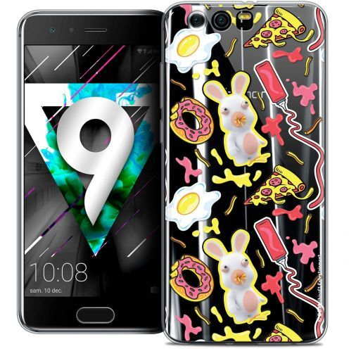 """Coque Gel Huawei Honor 9 (5.15"""") Extra Fine Lapins Crétins™ - Egg Pattern"""