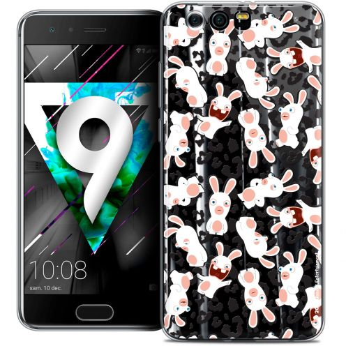 """Coque Gel Huawei Honor 9 (5.15"""") Extra Fine Lapins Crétins™ - Leopard Pattern"""
