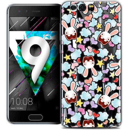 """Coque Gel Huawei Honor 9 (5.15"""") Extra Fine Lapins Crétins™ - Love Pattern"""