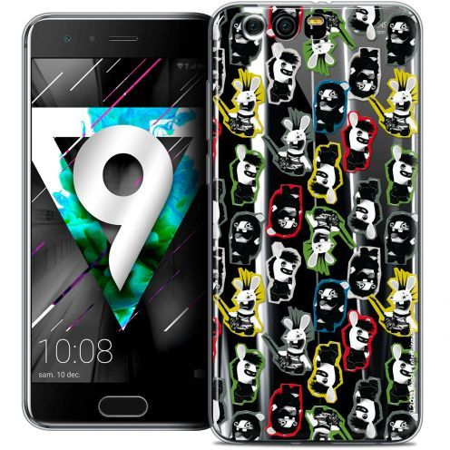 """Coque Gel Huawei Honor 9 (5.15"""") Extra Fine Lapins Crétins™ - Punk Pattern"""