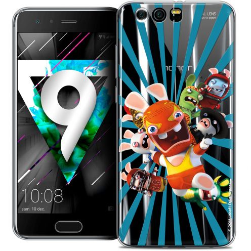 """Coque Gel Huawei Honor 9 (5.15"""") Extra Fine Lapins Crétins™ - Super Heros"""
