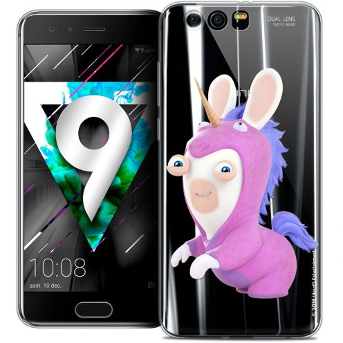 """Coque Gel Huawei Honor 9 (5.15"""") Extra Fine Lapins Crétins™ - Licorne"""