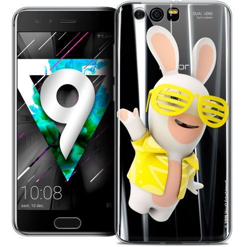"""Coque Gel Huawei Honor 9 (5.15"""") Extra Fine Lapins Crétins™ - Sun Glassss!"""