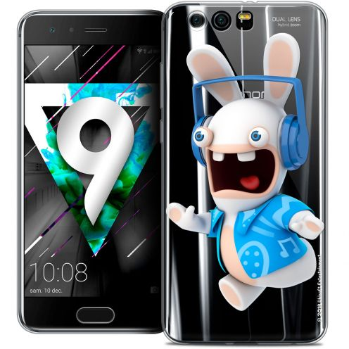 """Coque Gel Huawei Honor 9 (5.15"""") Extra Fine Lapins Crétins™ - Techno Lapin"""