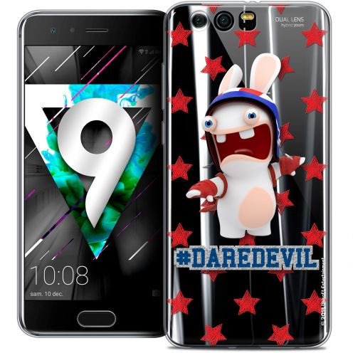 """Coque Gel Huawei Honor 9 (5.15"""") Extra Fine Lapins Crétins™ - Dare Devil"""
