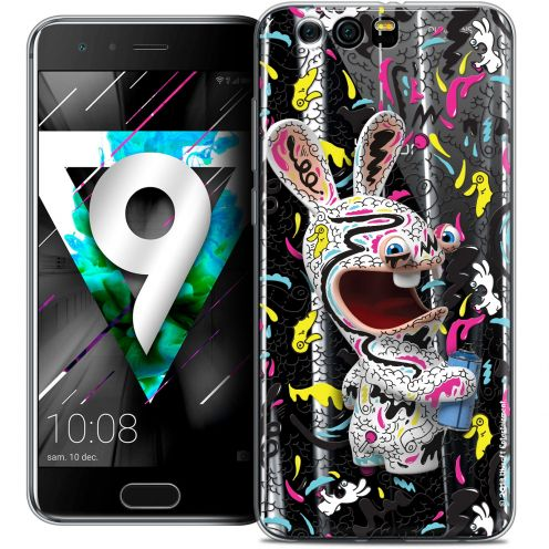 """Coque Gel Huawei Honor 9 (5.15"""") Extra Fine Lapins Crétins™ - Tag"""