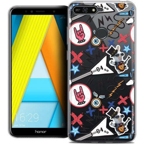 "Coque Gel Honor 7A (5.7"") Extra Fine Lapins Crétins™ - Rock Pattern"