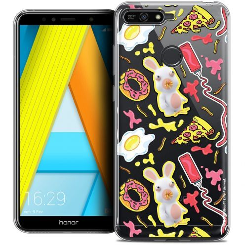 "Coque Gel Honor 7A (5.7"") Extra Fine Lapins Crétins™ - Egg Pattern"
