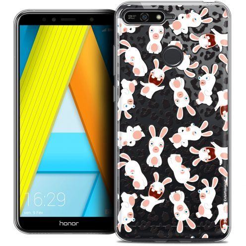 "Coque Gel Honor 7A (5.7"") Extra Fine Lapins Crétins™ - Leopard Pattern"
