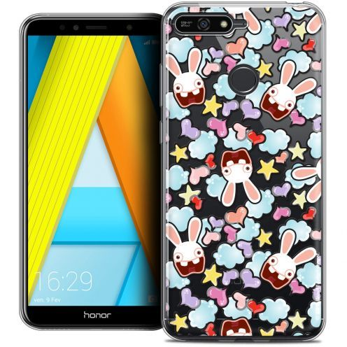 "Coque Gel Honor 7A (5.7"") Extra Fine Lapins Crétins™ - Love Pattern"