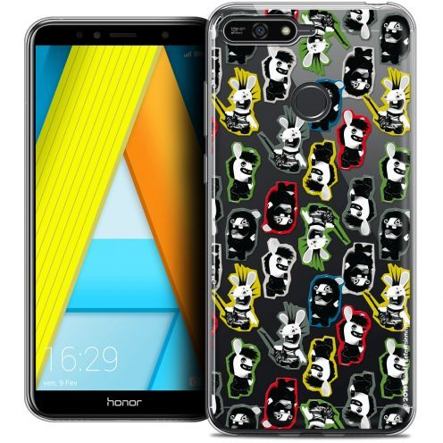 "Coque Gel Honor 7A (5.7"") Extra Fine Lapins Crétins™ - Punk Pattern"