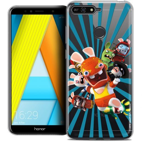 "Coque Gel Honor 7A (5.7"") Extra Fine Lapins Crétins™ - Super Heros"