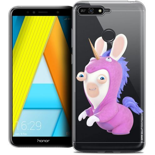 "Coque Gel Honor 7A (5.7"") Extra Fine Lapins Crétins™ - Licorne"