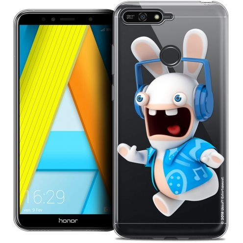 "Coque Gel Honor 7A (5.7"") Extra Fine Lapins Crétins™ - Techno Lapin"