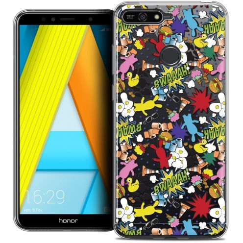 "Coque Gel Honor 7A (5.7"") Extra Fine Lapins Crétins™ - Bwaaah Pattern"