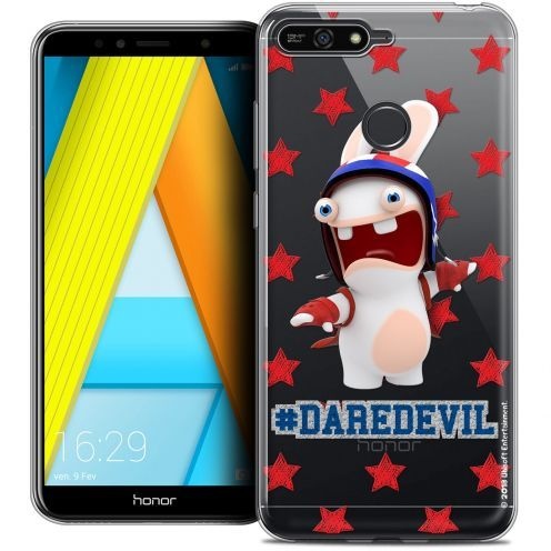 "Coque Gel Honor 7A (5.7"") Extra Fine Lapins Crétins™ - Dare Devil"