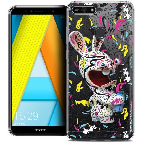 "Coque Gel Honor 7A (5.7"") Extra Fine Lapins Crétins™ - Tag"