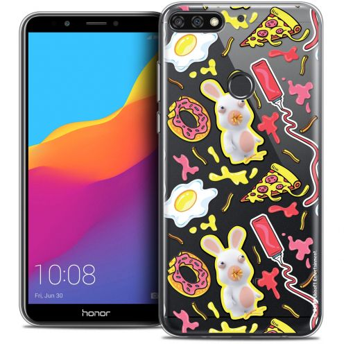 """Coque Gel Honor 7C (5.99"""") Extra Fine Lapins Crétins™ - Egg Pattern"""