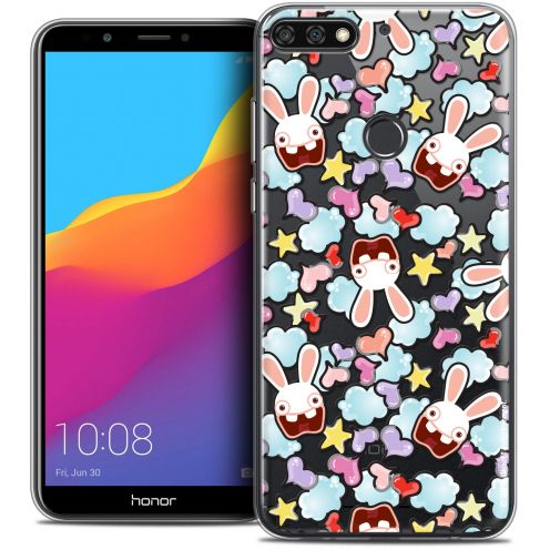 """Coque Gel Honor 7C (5.99"""") Extra Fine Lapins Crétins™ - Love Pattern"""