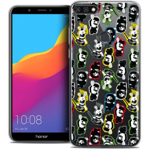 """Coque Gel Honor 7C (5.99"""") Extra Fine Lapins Crétins™ - Punk Pattern"""