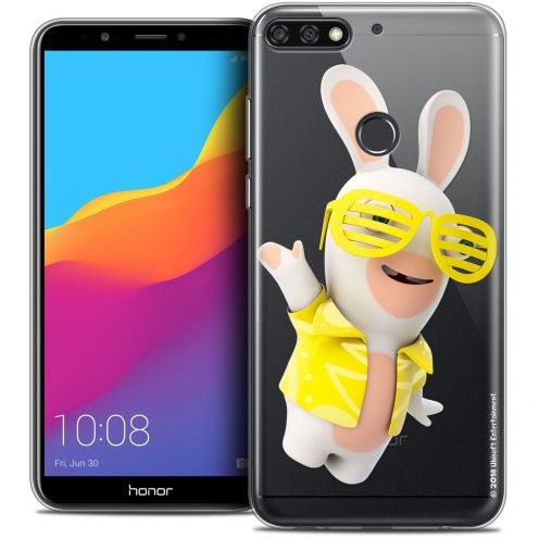 """Coque Gel Honor 7C (5.99"""") Extra Fine Lapins Crétins™ - Sun Glassss!"""