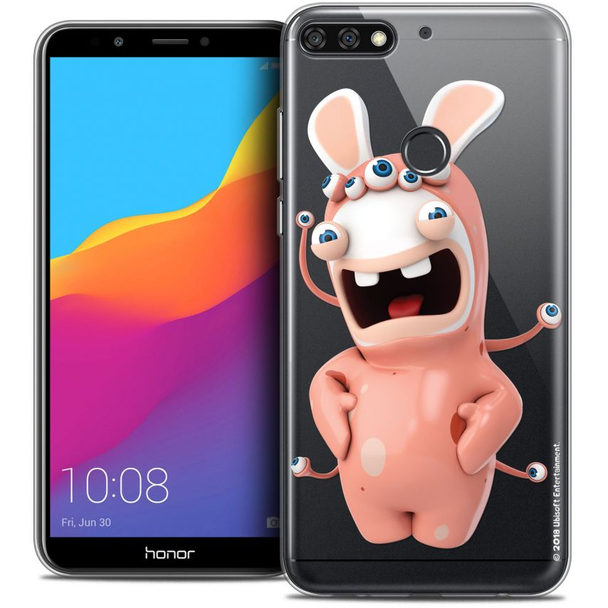 "Coque Gel Honor 7C (5.99"") Extra Fine Lapins Crétins™ - Extraterrestre"