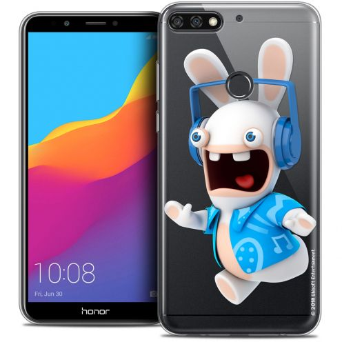 """Coque Gel Honor 7C (5.99"""") Extra Fine Lapins Crétins™ - Techno Lapin"""