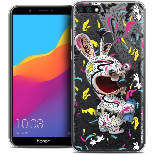 """Coque Gel Honor 7C (5.99"""") Extra Fine Lapins Crétins™ - Tag"""