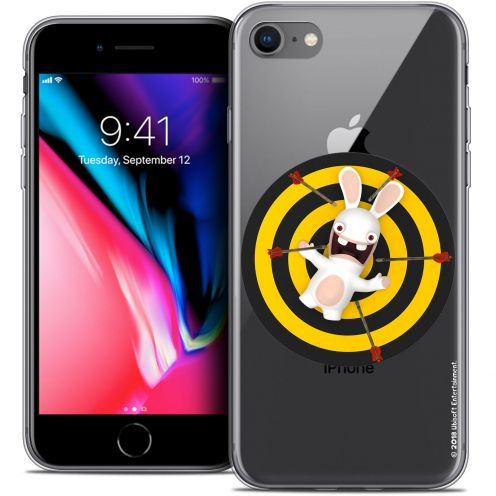 "Coque Gel Apple iPhone 8 (4.7"") Extra Fine Lapins Crétins™ - Target"