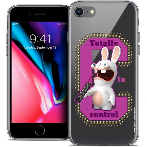 "Coque Gel Apple iPhone 8 (4.7"") Extra Fine Lapins Crétins™ - In Control !"