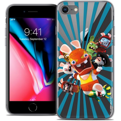"Coque Gel Apple iPhone 7 (4.7"") Extra Fine Lapins Crétins™ - Super Heros"