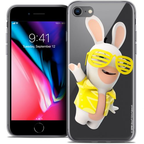 "Coque Gel Apple iPhone 7 (4.7"") Extra Fine Lapins Crétins™ - Sun Glassss!"