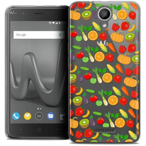 "Coque Crystal Gel Wiko Harry (5"") Extra Fine Foodie - Healthy"